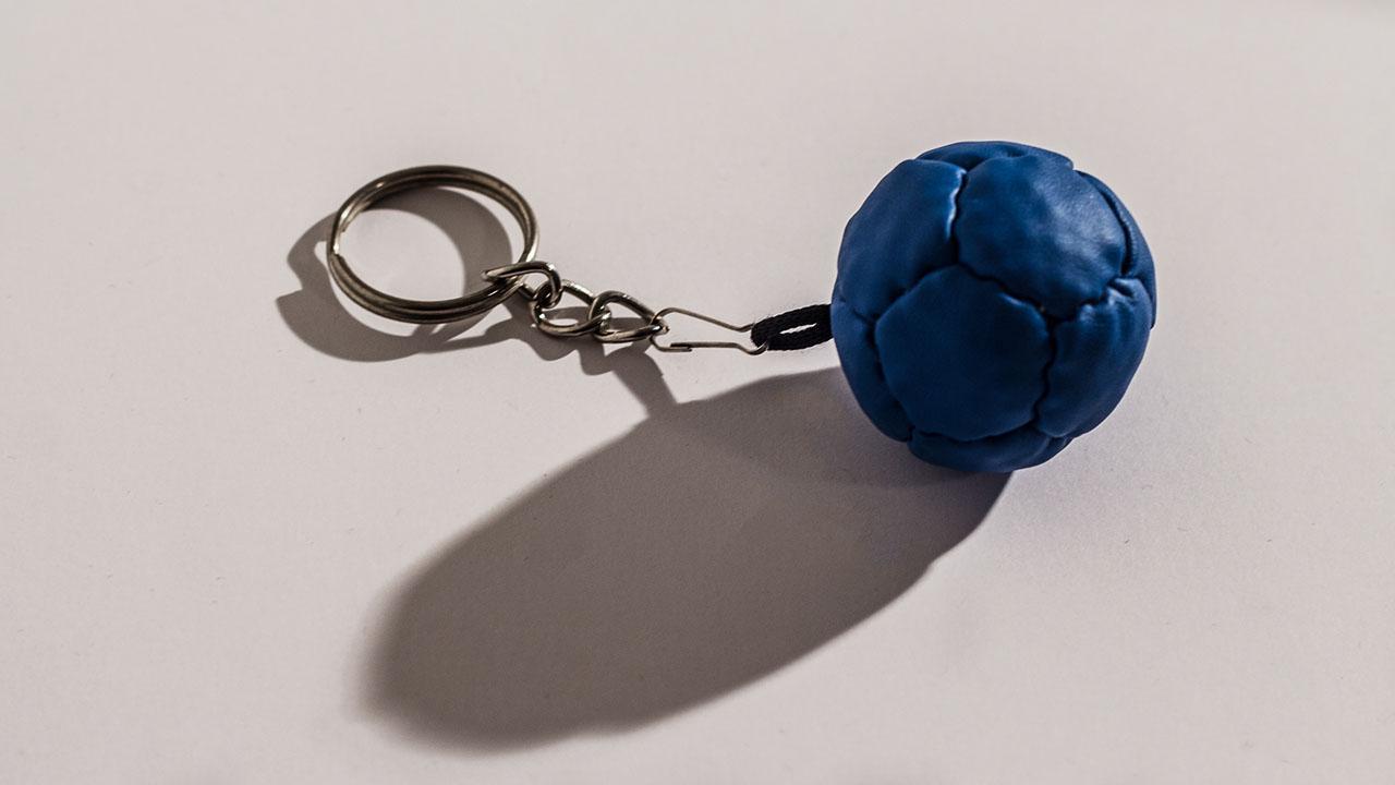 Boccas Ball Keychain - Blue