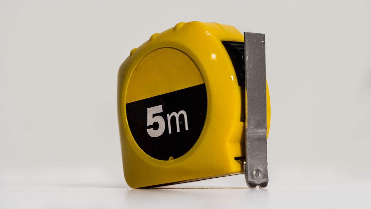Boccas Referee Kit - Measuring Tape - 5M